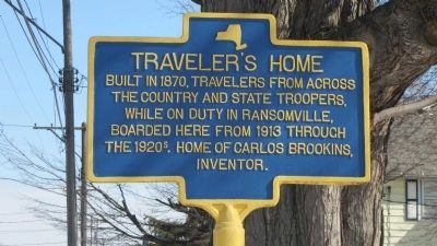 Traveler's Home Marker image. Click for full size.