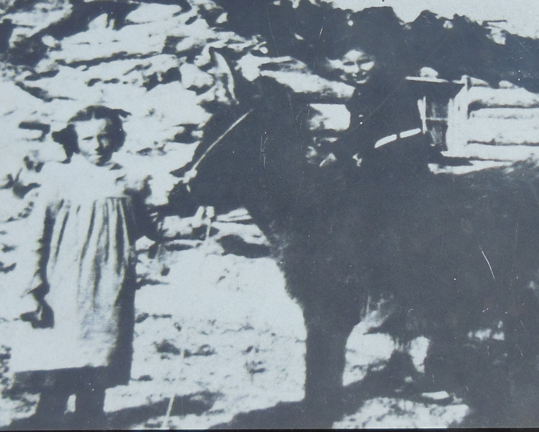 Esther and Ferol Stanley (<i>inset picture</i>)