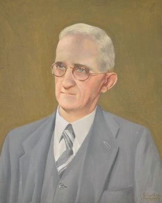 Portrait of A.S. Salley by painter Gerald Foster image. Click for full size.