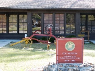 Florida CCC Museum - Highlands Hammock State Park image. Click for full size.