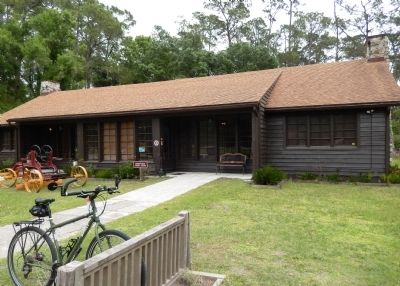 Florida CCC Museum - Highlands Hammock State Park (<i>wide view</i>) image. Click for full size.