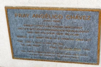 Fray Angelico Chavez Marker image. Click for full size.