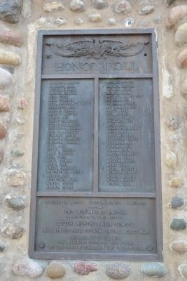 South Milford World War I Monument image. Click for full size.
