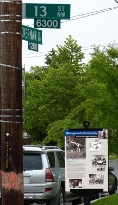 What a Beautiful Location, Brightwood Marker image. Click for full size.