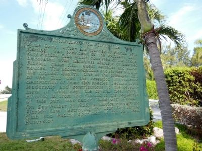 Long Key Fishing Club Marker (<i>reverse side</i>) image. Click for full size.