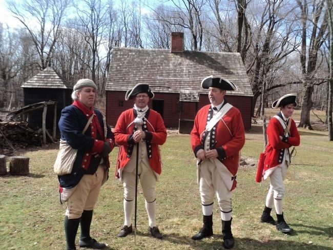 Revolutionary War Soldiers at the Wick House image. Click for full size.