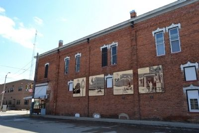 History Murals on W. 3rd Street image. Click for full size.