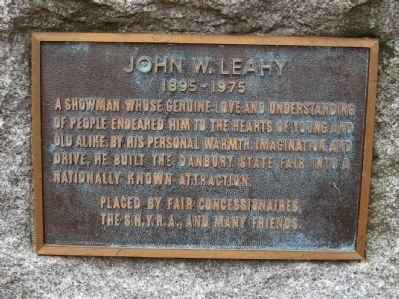John W. Leahy Marker image. Click for full size.
