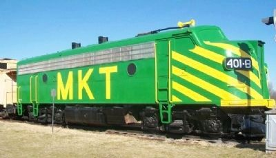 M-K-T F3 at Red River Railroad Museum image. Click for full size.