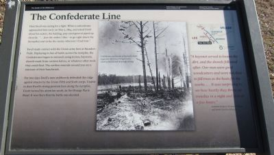 The Confederate Line Marker image. Click for full size.
