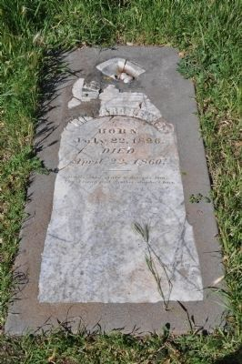 Richard Lewis Grave image. Click for full size.
