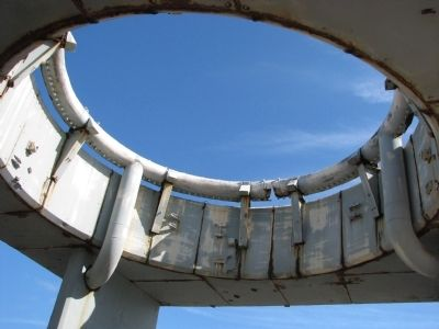 Launch Complex 34 (<i>fire ring</i>) image. Click for full size.