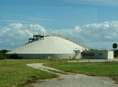 Launch Complex 34 blockhouse image. Click for full size.