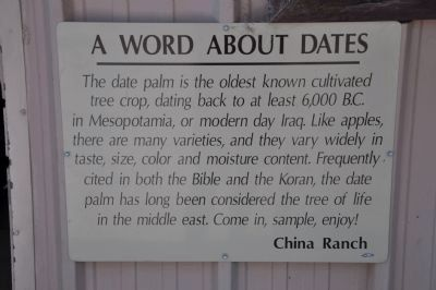 A Word About Dates image. Click for full size.