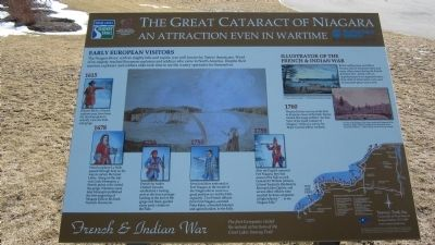 The Great Cataract of Niagara Marker image. Click for full size.