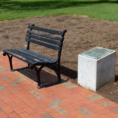 The Bernard Baruch Bench of Inspiration Marker image. Click for full size.