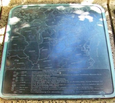 The History of the Wyandot Indian Nation Migration Marker image. Click for full size.