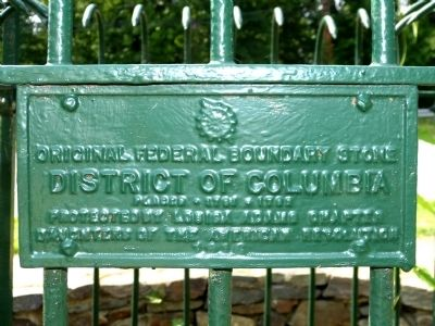 Original Federal Boundary Stone SE 5 Marker image. Click for full size.