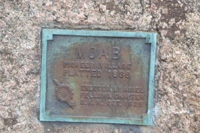 Moab Marker image. Click for full size.