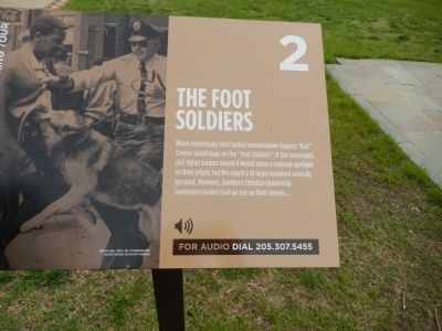 The Foot Soldiers Marker image. Click for full size.