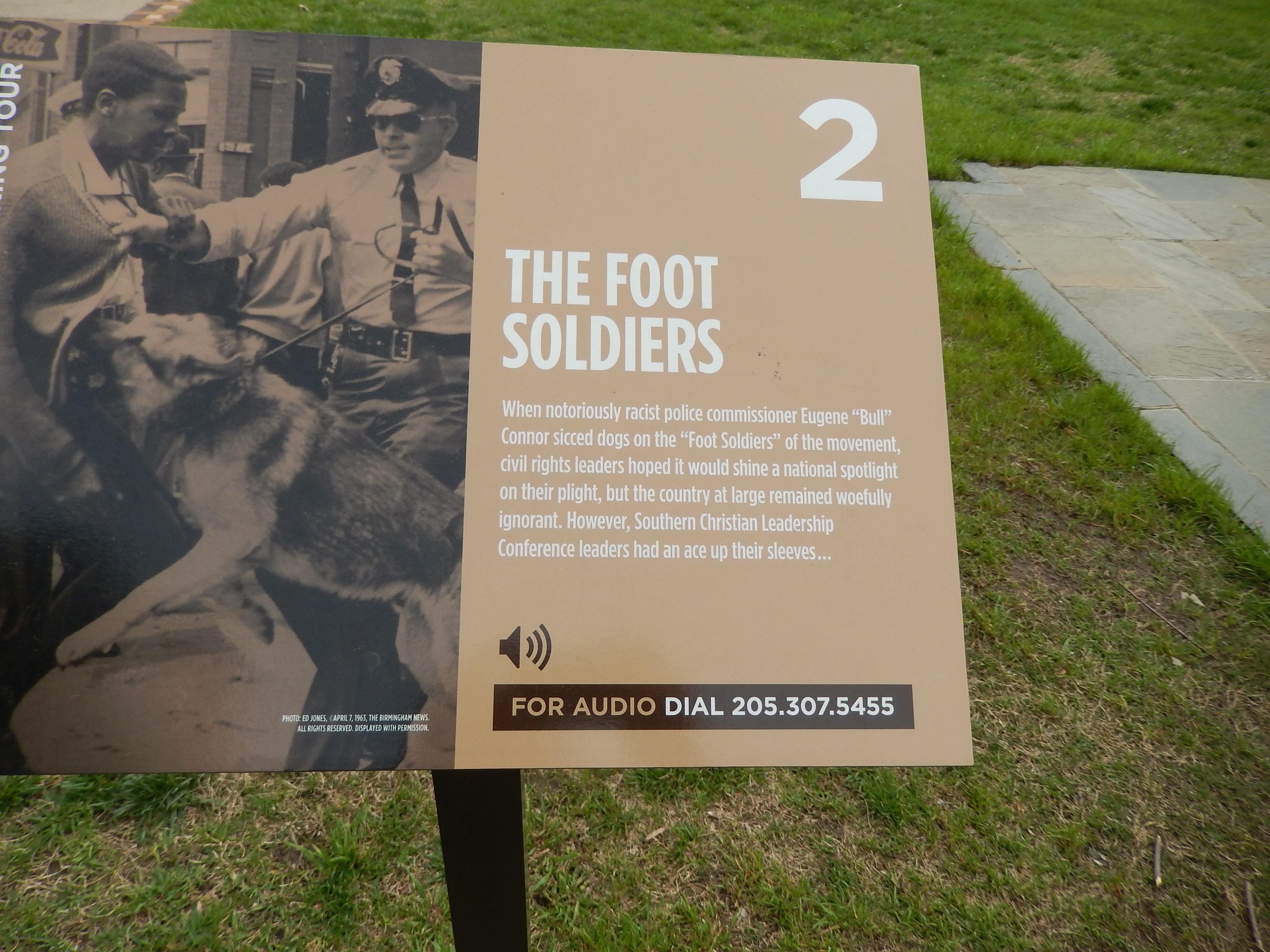 The Foot Soldiers Marker