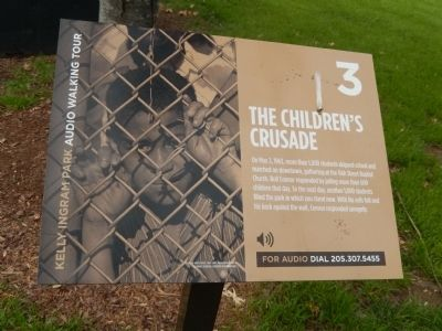 The Children's Crusade Marker image. Click for full size.