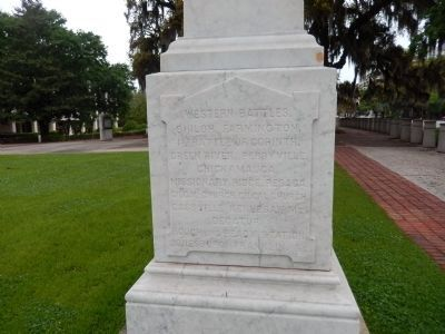 Leon County Civil War Monument image. Click for full size.