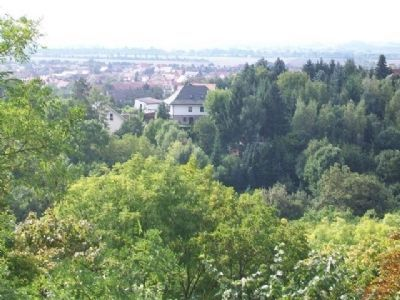 View of the Town of Allstedt From Near Castle Entrance image. Click for full size.