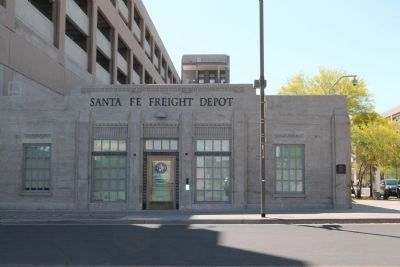 Santa Fe Freight Depot image. Click for full size.