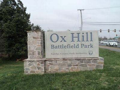 Ox Hill Battlefield Park image. Click for full size.