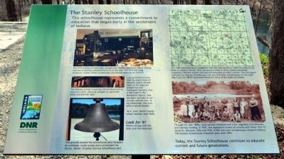 The Stanley Schoolhouse Marker image. Click for full size.