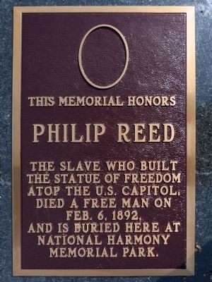 Philip Reed Marker image. Click for full size.