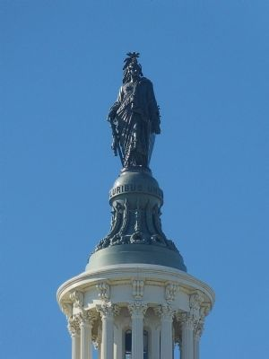 Statue of Freedom image. Click for full size.