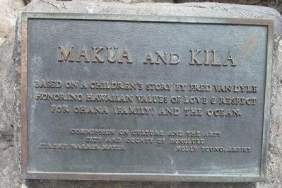 Makua and Kila Plaque image. Click for full size.
