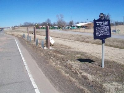 Markers Along U.S. Hwy 69 image. Click for full size.