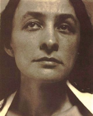 Georgia O'Keeffe (1887–1986) image. Click for full size.