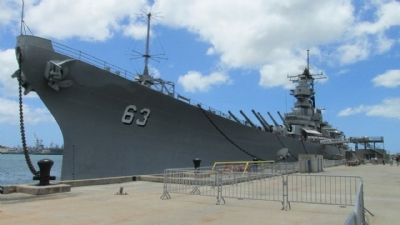 USS Missouri image. Click for full size.