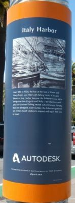 Italy Harbor Marker image. Click for full size.