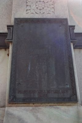 Tablet on West Elevation of Monument image. Click for full size.