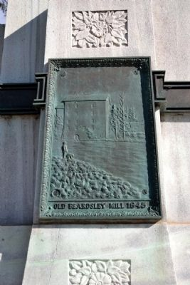 Tablet on South Elevation of Monument image. Click for full size.