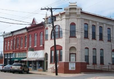 Van Alstyne Commercial District image. Click for full size.