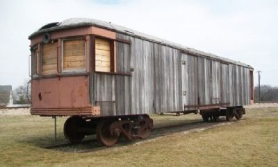 Van Alstyne Interurban Car Awaiting Restoration image. Click for full size.