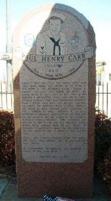 Paul Henry Carr Marker image. Click for full size.