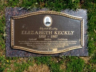 Elizabeth Keckly Marker image. Click for full size.