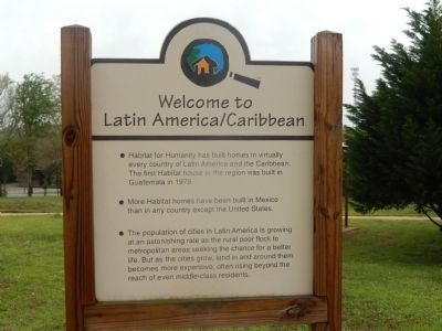 Welcome to Latin America/Caribbean Marker image. Click for full size.