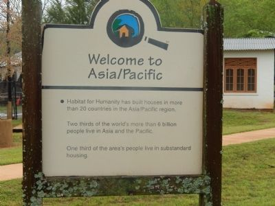 Welcome to Asia/Pacific Marker image. Click for full size.
