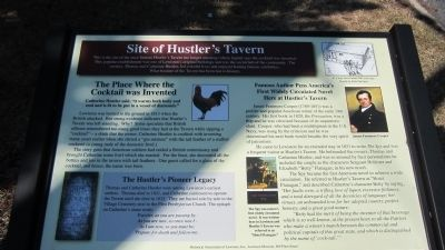 Site of Hustler's Tavern Marker image. Click for full size.