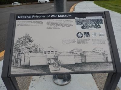 National Prisoner of War Museum Marker image. Click for full size.