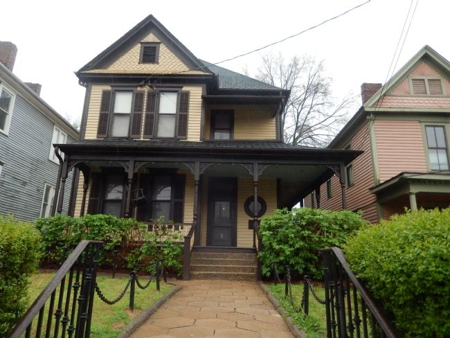 Birth Home of Dr. Martin Luther King, Jr. image. Click for full size.