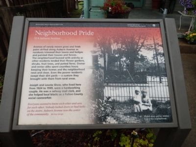 Neighborhood Pride Marker image. Click for full size.